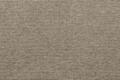 Struttura di colore a strisce tricottato di beige del tessuto fotografia stock