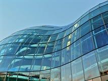 Struttura di costruzione di vetro Fotografia Stock Libera da Diritti