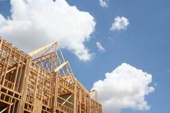 Struttura di costruzione domestica Fotografia Stock Libera da Diritti