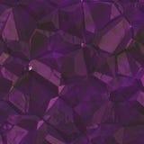 Struttura di cristallo illustrazione vettoriale