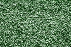 Struttura di cristallo dai minerali di colore verde Immagini Stock