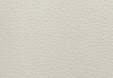 Struttura di cuoio beige Immagini Stock