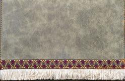 Struttura di cuoio di Nubuck Fotografia Stock