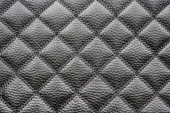 Struttura di cuoio a forma di diamante della pelle Fine in su Fotografia Stock Libera da Diritti