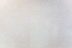 Struttura di cuoio grigia per fondo immagine stock