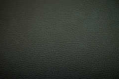 Struttura di cuoio nera Fotografia Stock