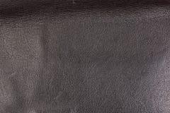 Struttura di cuoio nera di macro di progettazione della struttura Immagine Stock
