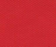 Struttura di cuoio perforata rossa senza cuciture Fotografie Stock Libere da Diritti