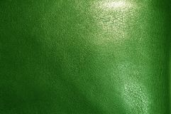 Struttura di cuoio verde Immagine Stock Libera da Diritti