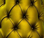 Struttura di cuoio verde metallica Immagine Stock Libera da Diritti