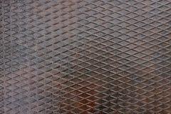 Struttura di di piastra metallica Fotografia Stock Libera da Diritti