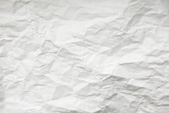 Struttura di documento sgualcito fotografie stock