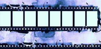 Struttura di film di lerciume con spazio per testo o l'immagine Fotografia Stock Libera da Diritti