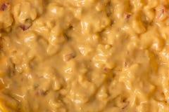 Struttura di formaggio da spalmare del pimento fotografia stock libera da diritti