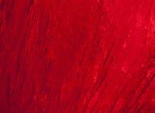 Struttura di ghiaccio con indicatore luminoso posteriore rosso scuro. Immagini Stock