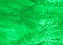 Struttura di ghiaccio con l'indicatore luminoso della parte posteriore di verde. Fotografia Stock Libera da Diritti