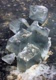 Struttura di ghiaccio, tessuto del ghiaccio immagini stock
