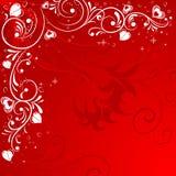 Struttura di giorno di biglietti di S. Valentino royalty illustrazione gratis