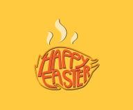 Struttura di giorno di Pasqua sul tacchino Fotografia Stock Libera da Diritti