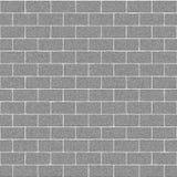 Struttura di Gray Concrete Brick Wall Seamless Fotografie Stock