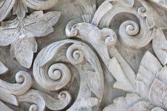 Struttura di gray di lavoro dello stucco Immagini Stock