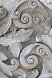 Struttura di gray di lavoro dello stucco Fotografia Stock Libera da Diritti