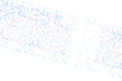 Struttura di griglia del pixel dei quadrati Fotografia Stock Libera da Diritti