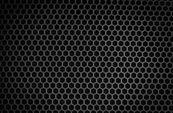 Struttura di griglia dell'altoparlante Fotografia Stock