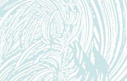 Struttura di Grunge Traccia approssimativa blu di emergenza Fondo bizzarro Struttura sporca di lerciume di rumore Arte viva illustrazione vettoriale