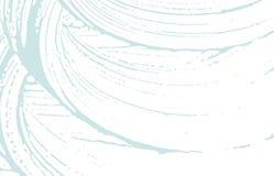 Struttura di Grunge Traccia approssimativa blu di emergenza Fondo bizzarro Struttura sporca di lerciume di rumore Surprisin royalty illustrazione gratis
