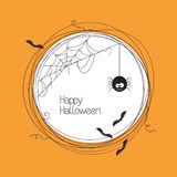 Struttura di Halloween Fotografia Stock