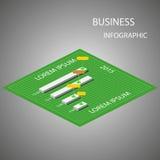 Struttura di Infographic Immagini Stock