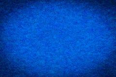 Struttura di lana blu del panno Fotografia Stock