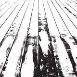 Struttura di legno afflitta Immagine Stock