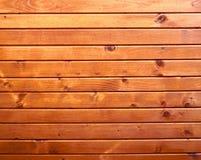 Struttura di legno arancione della zolla Immagine Stock