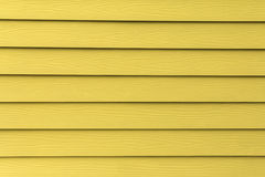 Struttura di legno artificiale giallo Fotografia Stock