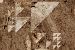 Struttura di legno astratta colorata Fotografia Stock