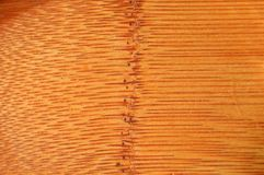 Struttura di legno di bambù di Brown, tagliere immagini stock libere da diritti