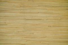 Struttura di legno di bambù sulla mobilia fotografia stock libera da diritti