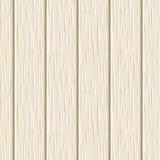 Struttura di legno beige senza cuciture delle plance Illustrazione di vettore Fotografie Stock Libere da Diritti