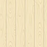 Struttura di legno beige senza cuciture Illustrazione di vettore Immagini Stock