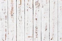 Struttura di legno bianca del fondo Fotografie Stock