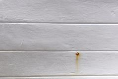 Struttura di legno bianca della parete come fondo Immagine Stock Libera da Diritti