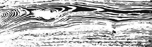 Struttura di legno bianca ed il nero 2 Fotografie Stock