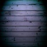 Struttura di legno blu Immagini Stock