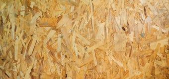 Struttura di legno Bordo di legno di Osb per la decorazione del fondo immagini stock