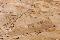 Struttura di legno Bordo di legno di Osb per la decorazione del fondo Immagini Stock Libere da Diritti