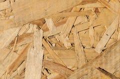 Struttura di legno Bordo di legno di Osb per la decorazione del fondo Immagine Stock