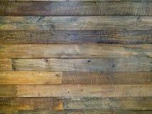 Struttura di legno di Brown della parete, fondo Fotografia Stock