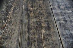 Struttura di legno bruciata e bene spazzolata Fotografia Stock